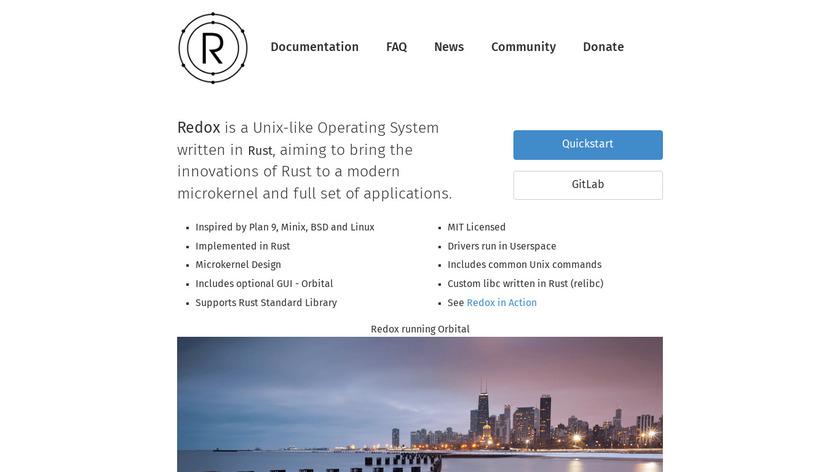 Redox Landing Page