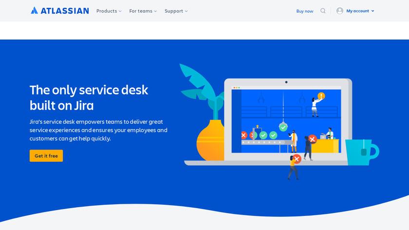 Jira Service Desk Landing Page