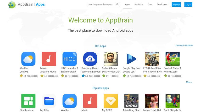 AppBrain Landing Page
