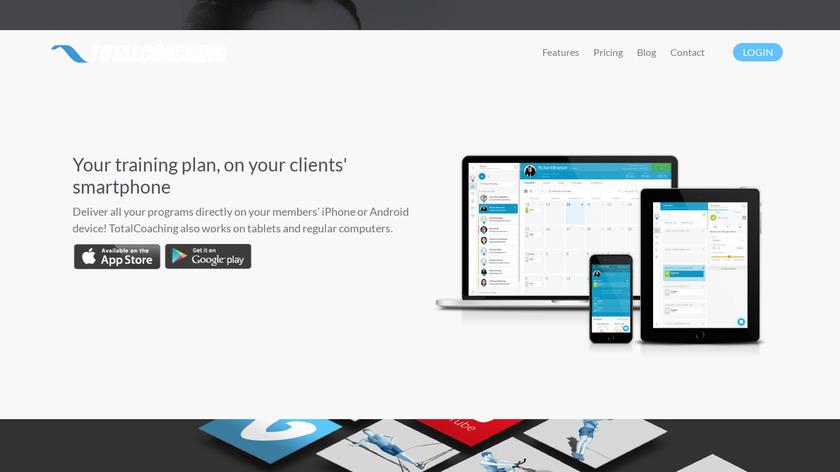 TotalCoaching Landing Page
