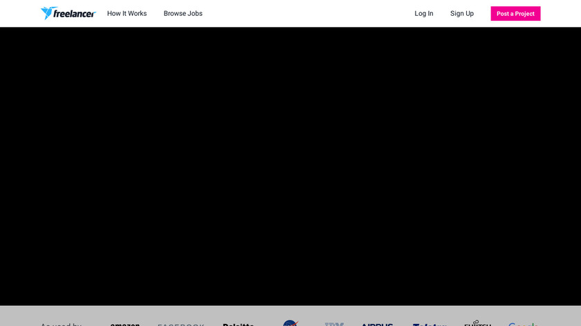 Freelancer.com Landing Page