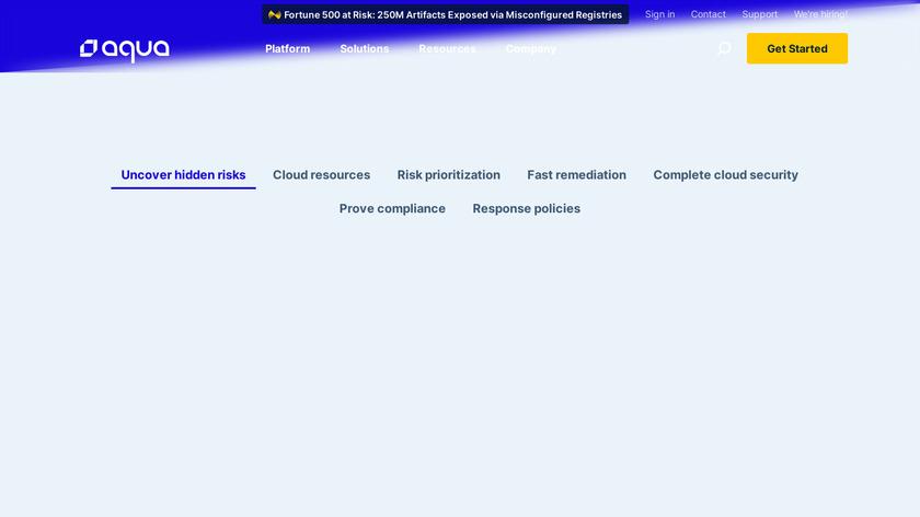 CloudSploit Landing Page
