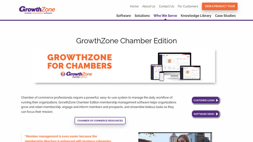 ChamberMaster Landing Page