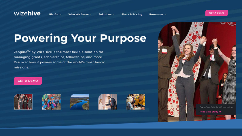 Wizehive Landing Page