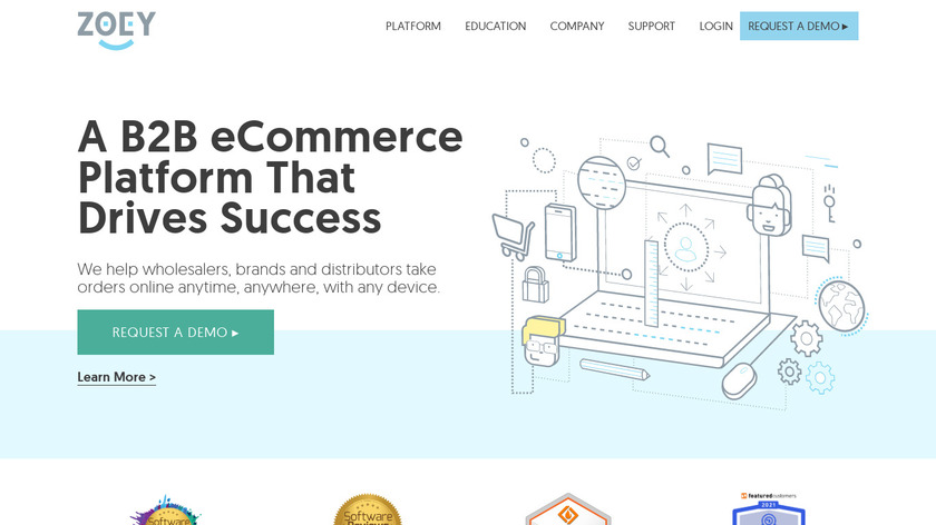 Zoey Landing Page