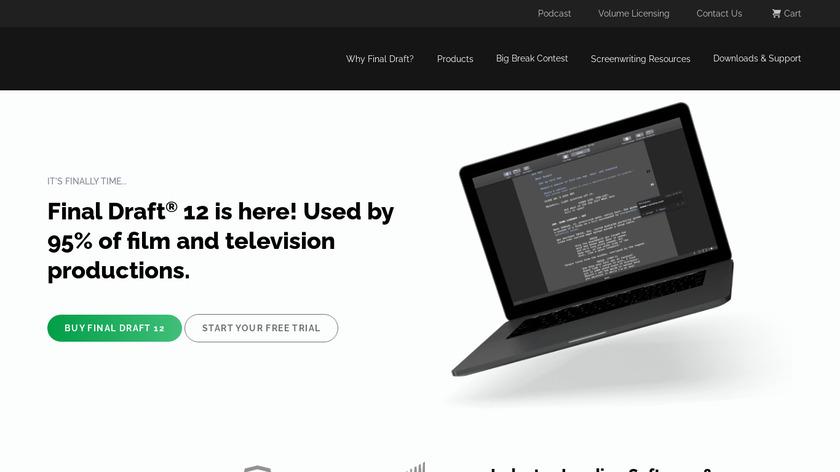 Final Draft Landing Page