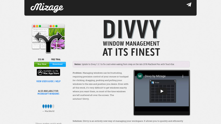 Divvy Landing Page