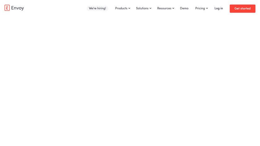 Envoy Landing Page