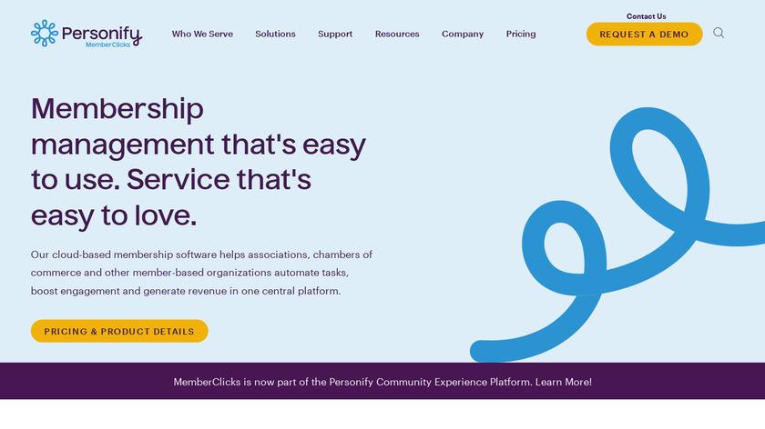 Memberclicks Landing Page