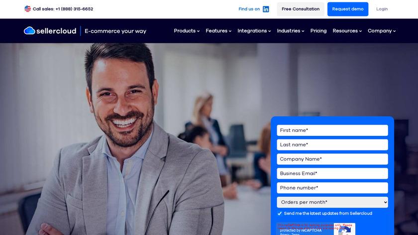 SellerCloud Landing Page