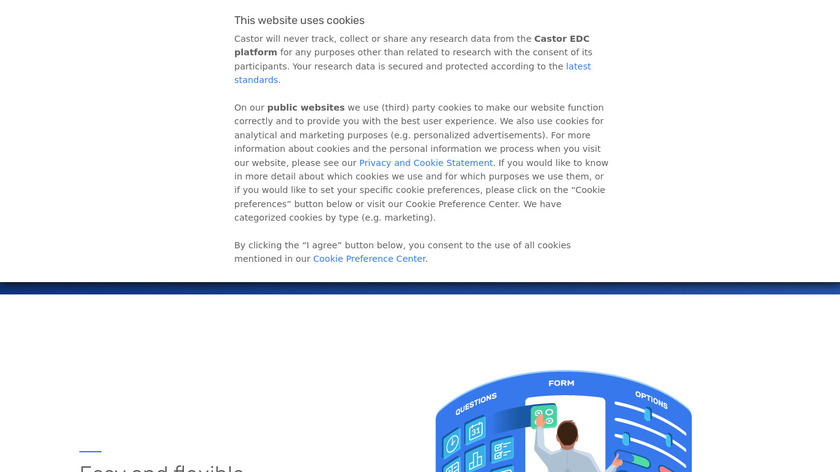 Castor EDC Landing Page