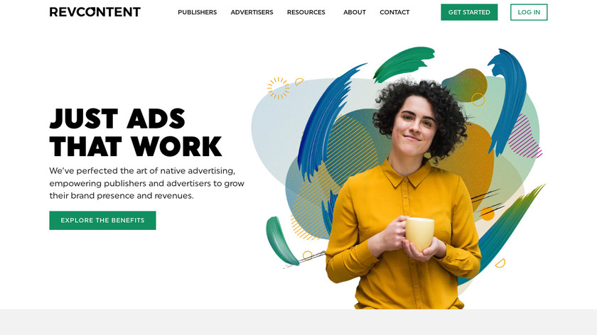 Revcontent Landing Page