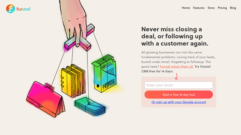 Funnel Landing Page