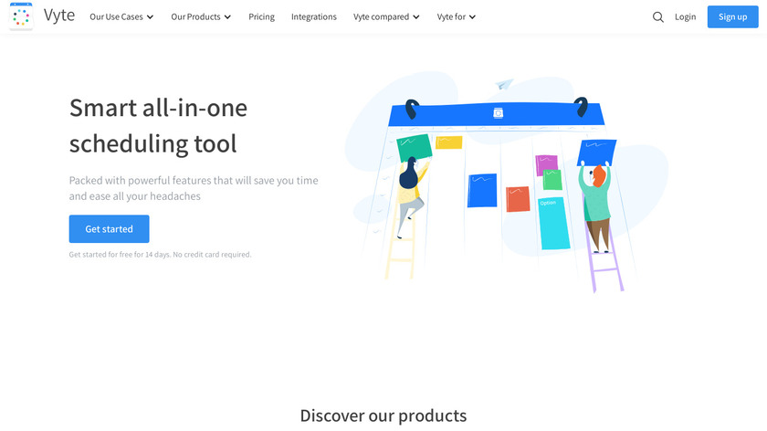 Vyte Landing Page
