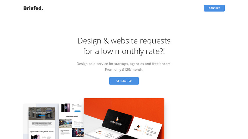 Briefed Landing Page