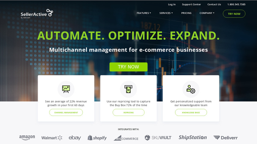 SellerActive Landing Page