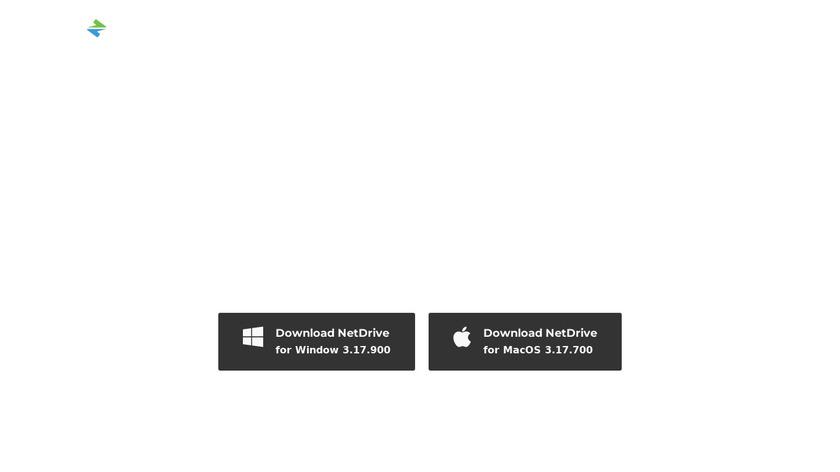 NetDrive Landing Page