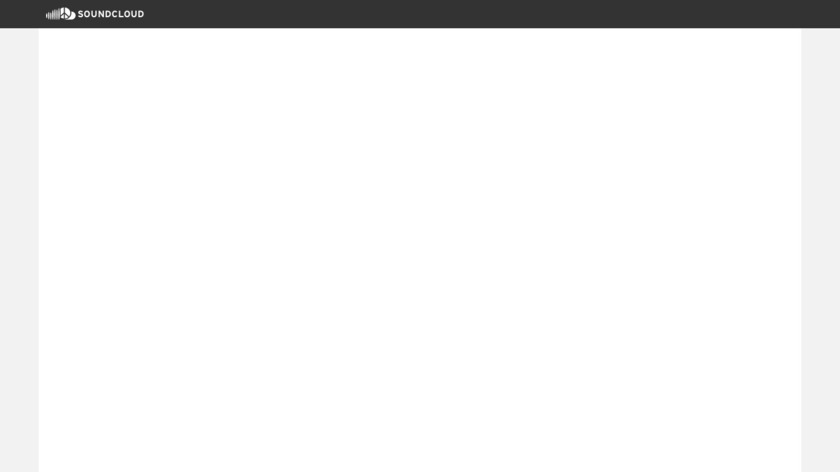 SoundCloud Landing Page