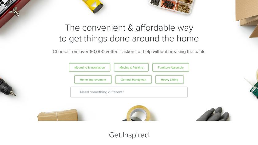 TaskRabbit Landing Page