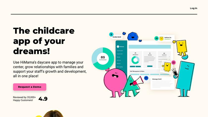 HiMama Landing Page
