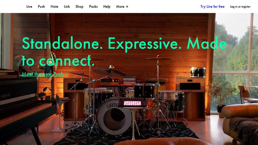 Ableton Live Landing Page