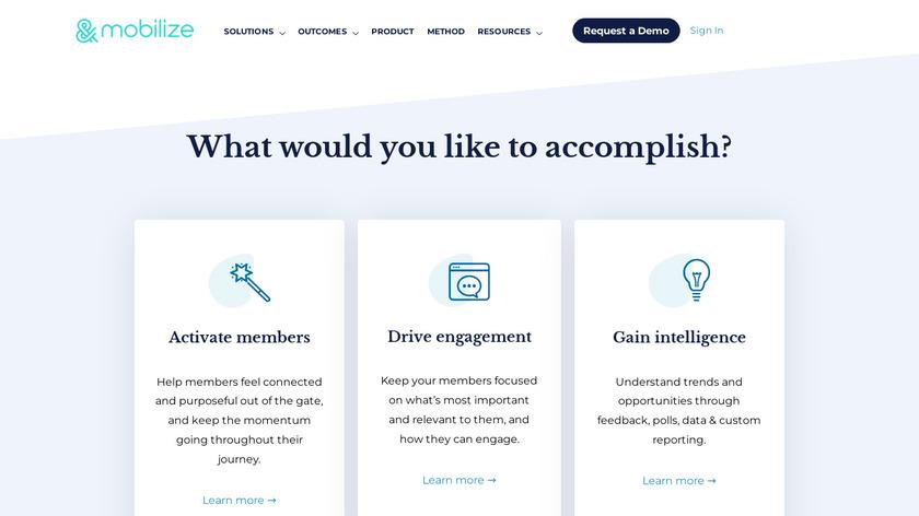 Mobilize Landing Page