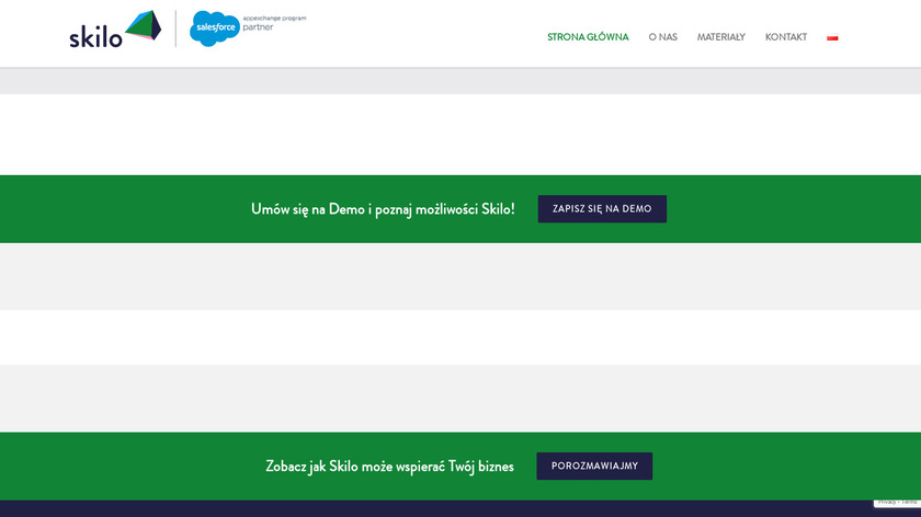 Skilo Landing Page