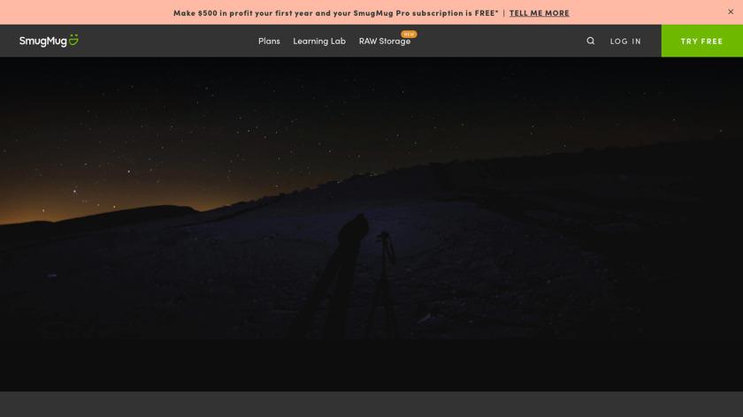 SmugMug Landing Page