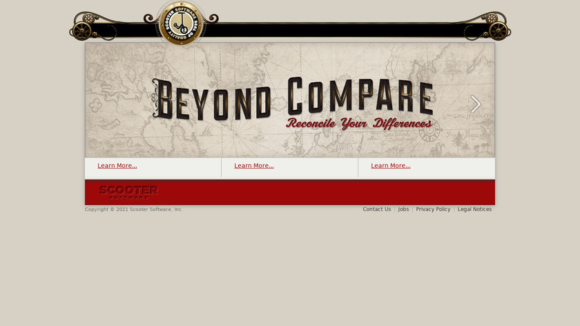 Beyond Compare Landing Page