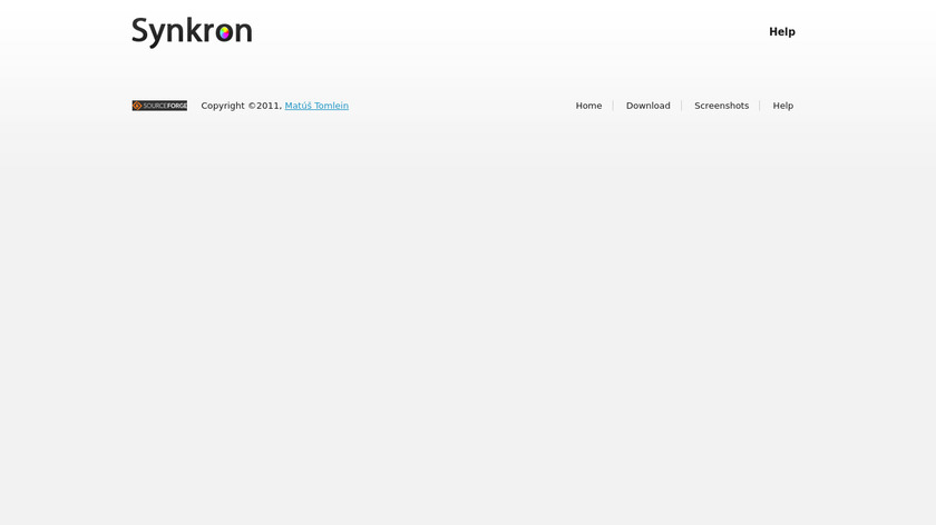 Synkron Landing Page