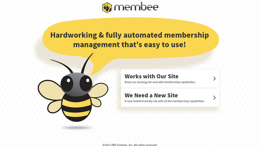 Membee Landing Page