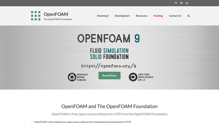OpenFOAM Landing Page