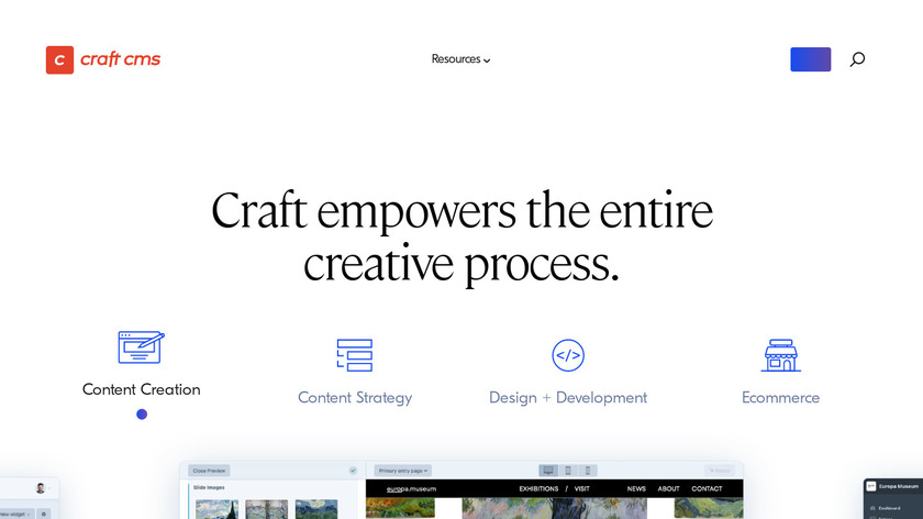 Craft Landing Page