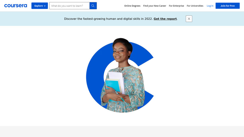 Coursera Landing Page