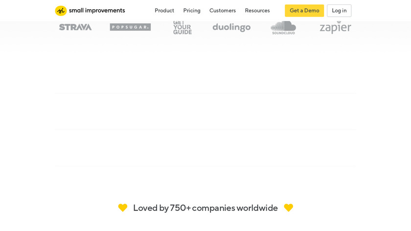 Small Improvements Landing Page