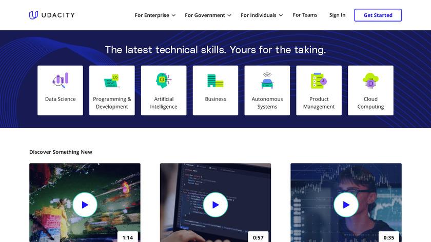 Udacity Landing Page