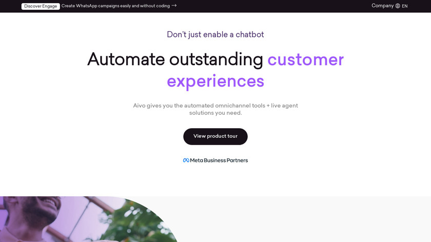 Aivo Landing Page