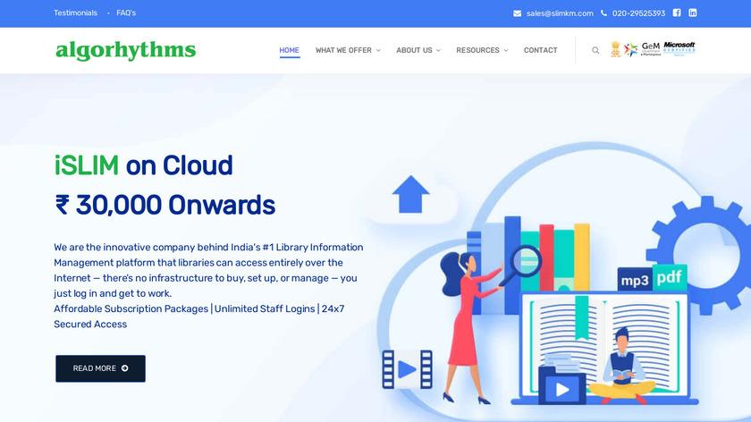 SLIM21 Landing Page