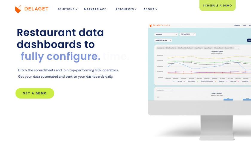 Delaget Landing Page