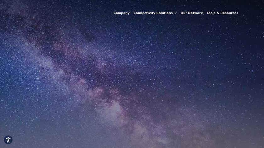 Telesat Landing Page