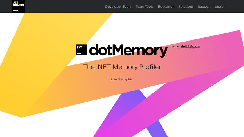 dotMemory Landing Page