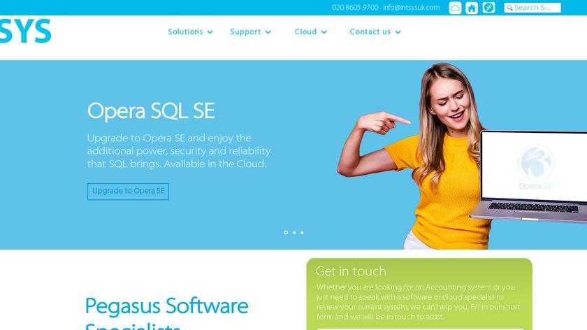Intsys UK Landing Page
