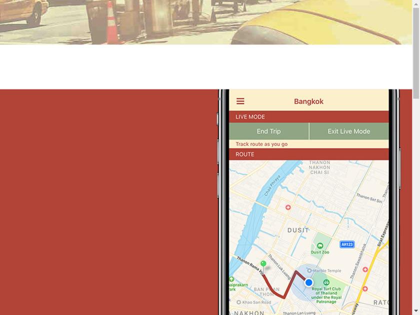 Taxi Explorer Landing Page
