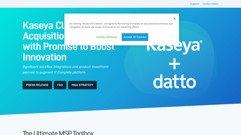 Datto Landing Page