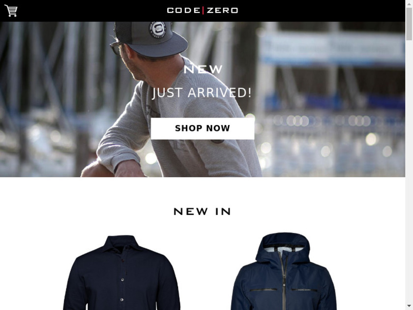 Code Zero Landing Page