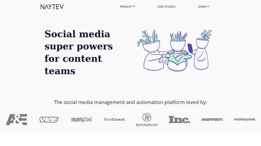 Naytev Landing Page