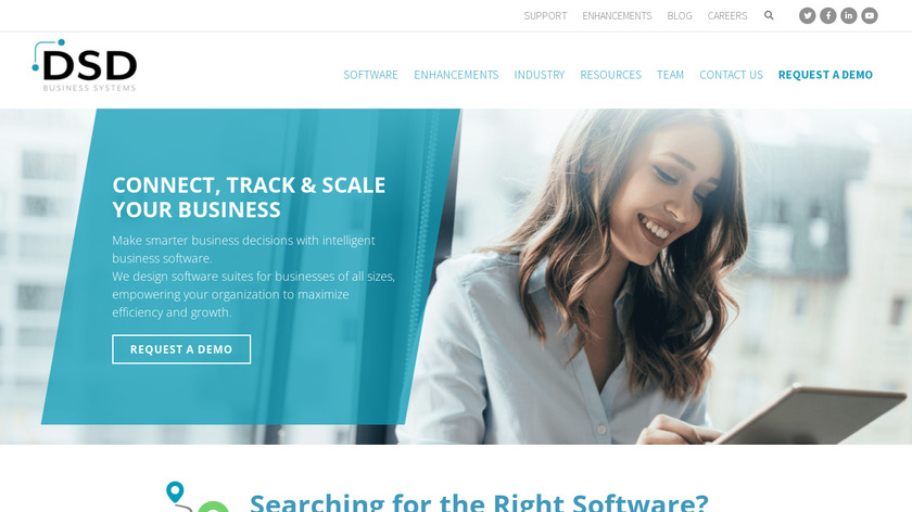 DSD Business Systems Landing Page