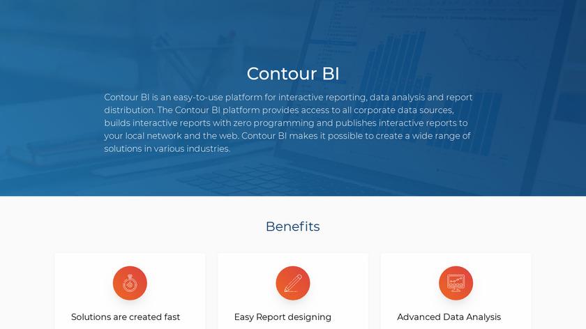 Contour BI Landing Page