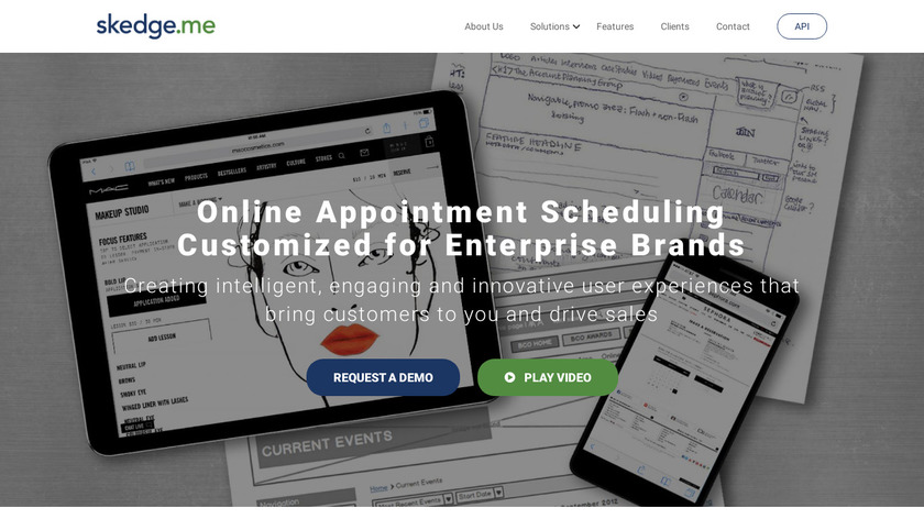 skedge.me Landing Page