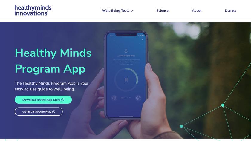 Healthy Minds Program Landing Page